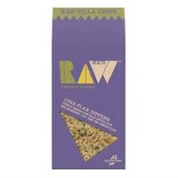 10% OFF Raw-Tilla Chips - Chia Flax Dippers 60g (order in singles or 8 for trade outer)