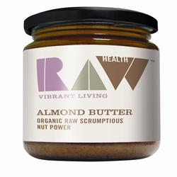 Organic Raw Whole Almond Butter 170g