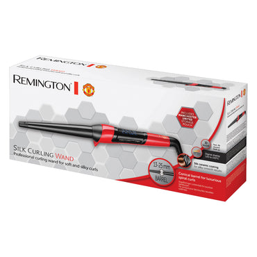 REMINGTON - MANCHESTER UNITED Curling Wand | Man United Special Ed | 13-25mm