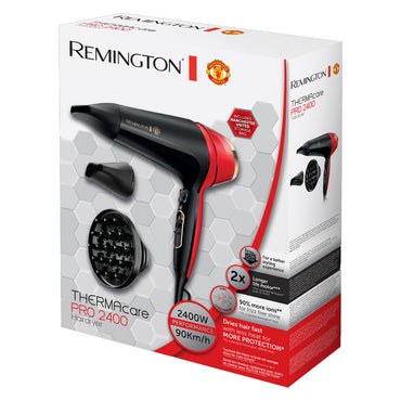 REMINGTON - MANCHESTER UNITED Hairdryer | Man United Special Edition | 2400w