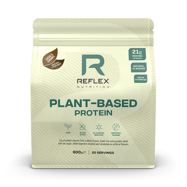 Reflex Nutrition Plant-Based Protein 600g / Cacao & Caramel
