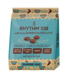 Ooh-la-la Tea Biscuit Double Choco Hazelnut Sharing Bag (order in multiples of 4 or 12 for retail outer)