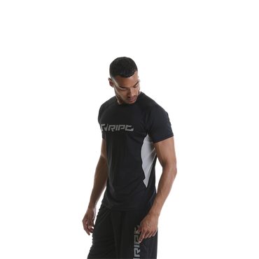 RIPT Contrast Performance T-Shirt, S / Black