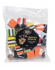 Licorice Allsorts Bag 280g (order in singles or 12 for trade outer)