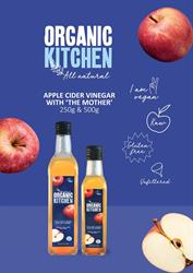 Organic Kitchen Apple Cider Vinegar A2 Poster