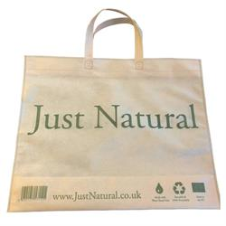 Just Natural Reuse & Recycle Bag (order 330 for trade outer)