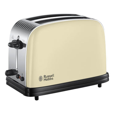 RUSSELL HOBBS Toaster | 2 Slice X-Wide | Colours+ | Cream