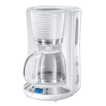 RUSSELL HOBBS Coffee Machine | Inspire | 1.25L | White | 1100W