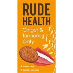 Ginger & Turmeric Oaty 200g (order in singles or 12 for trade outer)