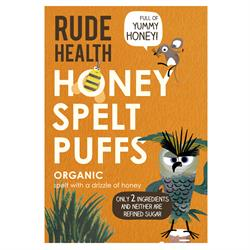 Honey Spelt Puffs 175g (order in singles or 8 for trade outer)