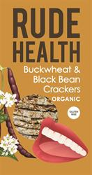 Buckwheat & Blackbean Crackers, 120g (order in singles or 5 for retail outer)