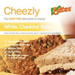 White Cheddar Style Cheezly 190g