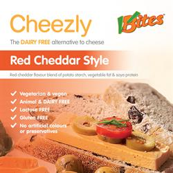 Red Cheddar Style Cheezly 190g