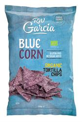 Organic Blue Tortilla Chips 150g (order in singles or 12 for retail outer)