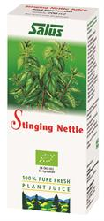 Stinging Nettle Organic Fresh Plant Juice 200ml (order in singles or 16 for retail outer)