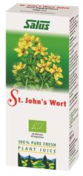 St John's Wort Organic Fresh Plant Juice 200ml (order in singles or 16 for trade outer)