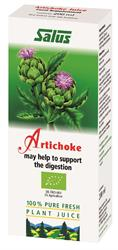 Artichoke Organic Fresh Plant Juice 200ml (order in singles or 16 for trade outer)