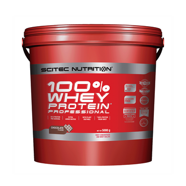 Scitec Nutrition 100% Whey Protein Professional 5000g / Chocolate