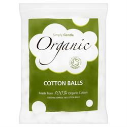 Organic Cotton Balls 100 Balls (order in singles or 24 for trade outer)