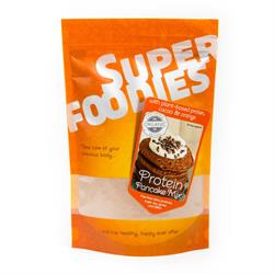 Powdered pancake mix with brown rice protein & cacao powder 290g