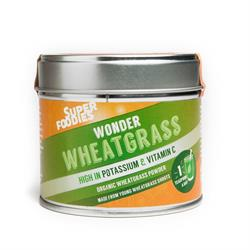 Raw Organic Wheatgrass Powder (order in singles or 12 for trade outer)