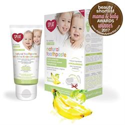 Baby 0-3 Apple-Banana Toothpaste 40ml (order in singles or 12 for trade outer)