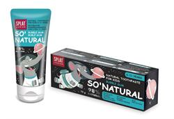 Junior Natural Toothpaste Kids 6-11 Years Bubble Gum 73g (order in singles or 12 for trade outer)