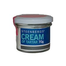 Cream of Tartar 70g (order in singles or 12 for trade outer)
