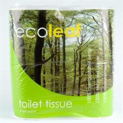 Ecoleaf Toilet Tissue 4 Pack (order in singles or 10 for trade outer)