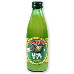 Organic Lime Juice 250ml (order in singles or 12 for trade outer)