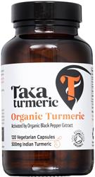 Turmeric & Black Pepper Extract 120 capsule (order in singles or 25 for trade outer)