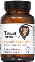 Turmeric & Black Pepper Extract 60 Capsule (order in singles or 25 for trade outer)