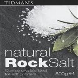 Rock Salt 500g (order in singles or 12 for trade outer)