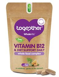 WholeVit B12 & Diet Support 60 Caps (order in singles or 5 for retail outer)