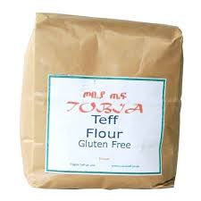 Brown Teff Flour 1kg (order in singles or 20 for trade outer)