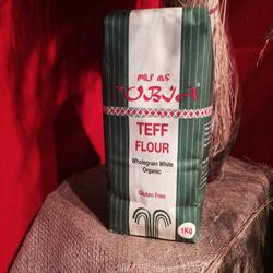 Organic White Teff Flour 1000g (order in singles or 20 for trade outer)