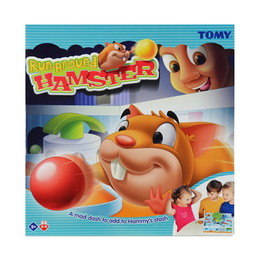 TOMY Run Around Hamster | 2-4 Player | 5+