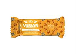 Vegan Choc Caramel, High Protein, Low Sugar Bar 55g (order in multiples of 2 or 20 for retail outer)