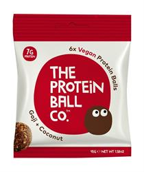 Vegan Protein balls - Goji & Coconut 45g (order 10 for retail outer)