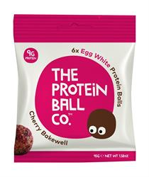 Egg White Protein Balls - Cherry Bakewell Protein Balls x 45g (order 10 for retail outer)