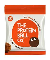 Whey Protein balls - Cacoa & Orange Protein Balls x 45g (order 10 for retail outer)
