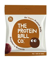 Vegan Protein Balls - Raspberry Brownie Balls 45g (order 10 for retail outer)