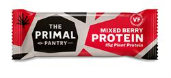 The Primal Pantry Mixed Berry Protein Bar 55g (order 15 for retail outer)