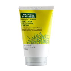 Antiseptic Cream - Tea Tree 100ml (order in singles or 12 for trade outer)