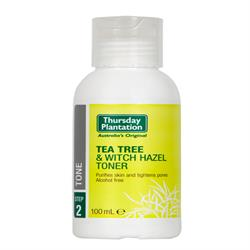 Tea Tree & Witch Hazel Toner 100ml (order in singles or 12 for trade outer)