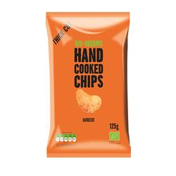 Organic Handcooked Barbecue Crisps 40g (order in singles or 15 for trade outer)