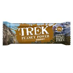 Trek Peanut Power 55g Bar (order 16 for trade outer)