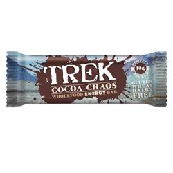 Trek Cocoa Chaos 55g Bar (order 16 for trade outer)