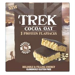 Trek Cocoa & Oat 3x50g Flapjack Multi-Pack (order in singles or 12 for retail outer)