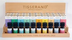 Tisserand top 10 Essential Oil Display Unit 30 x 9ML and Testers.